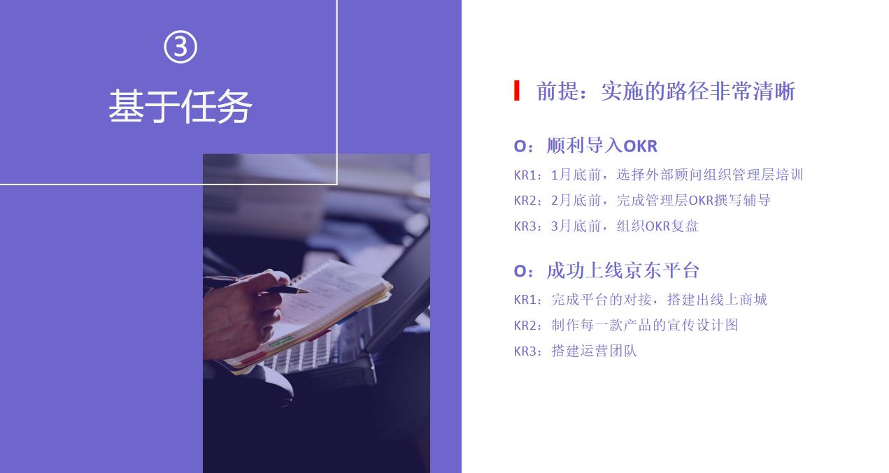 OKR干货分享:关键结果的来源