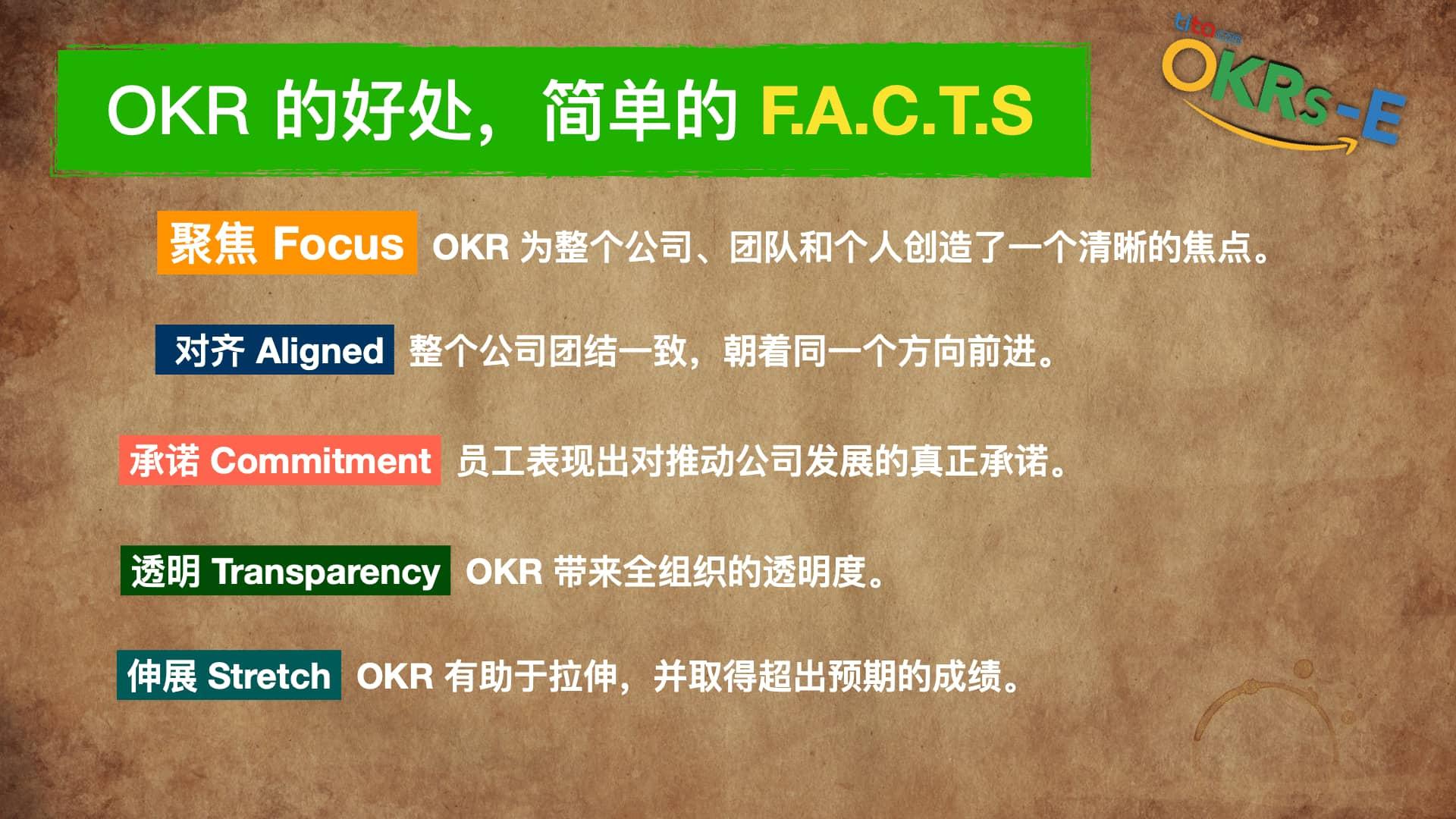 用户说:实践OKR 的最大收获是什么?